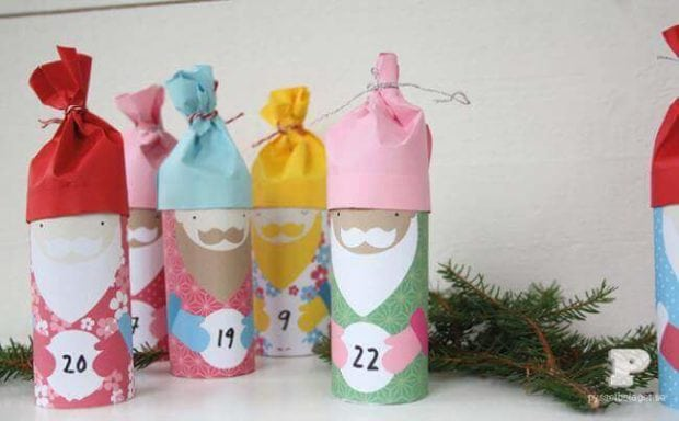 Toilet Paper Roll Crafts Advent