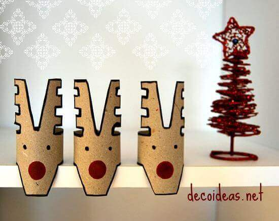 Toilet Paper Roll Crafts Reindeer