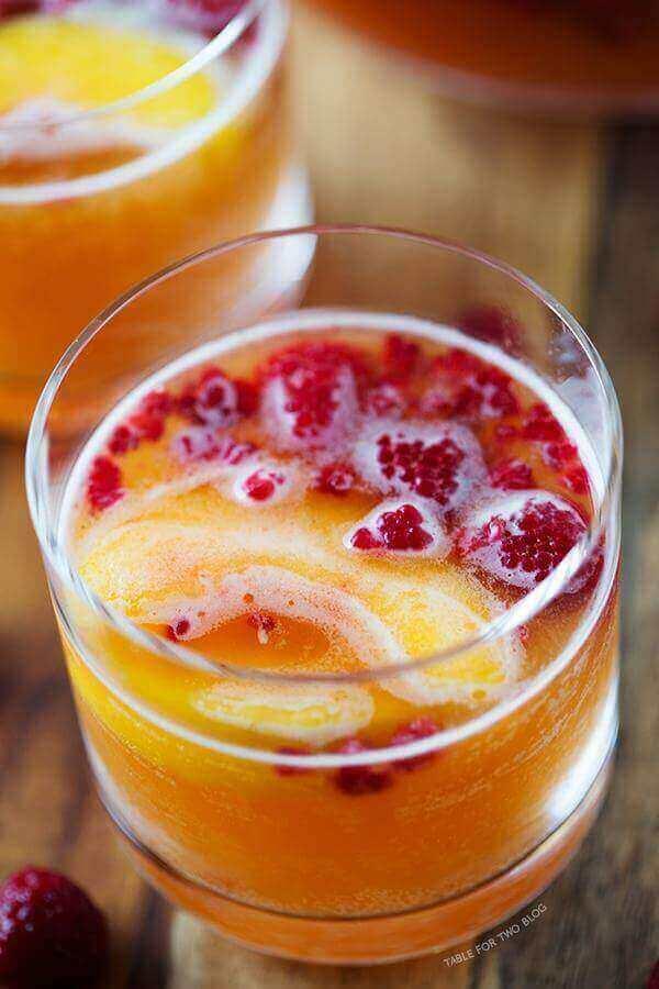 Raspberry Peach Punch Ideas