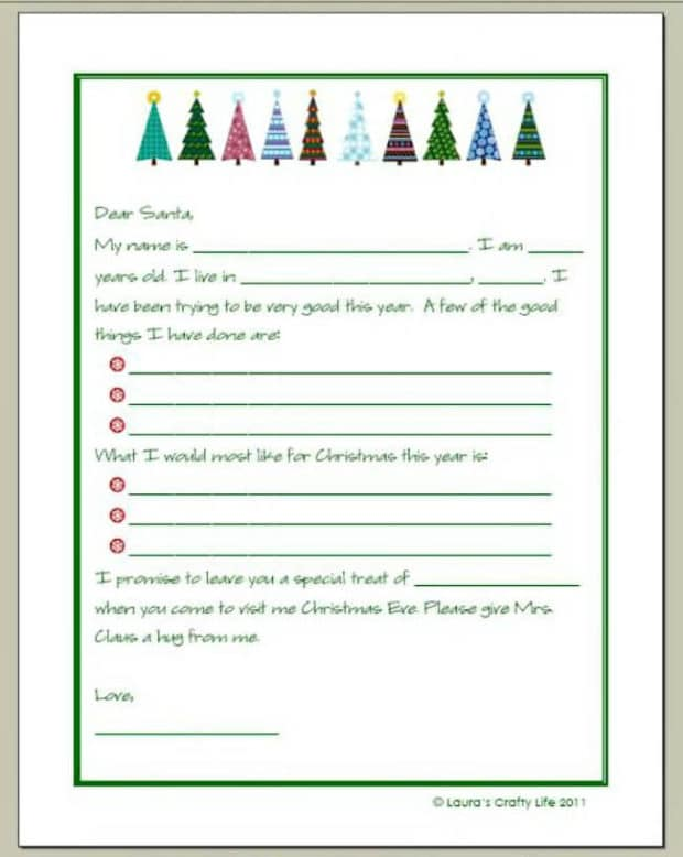 20 Free Printable Letters To Santa Templates | Spaceships And