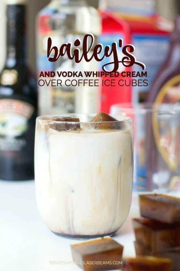 Bailey's Over Vodka Coffee
