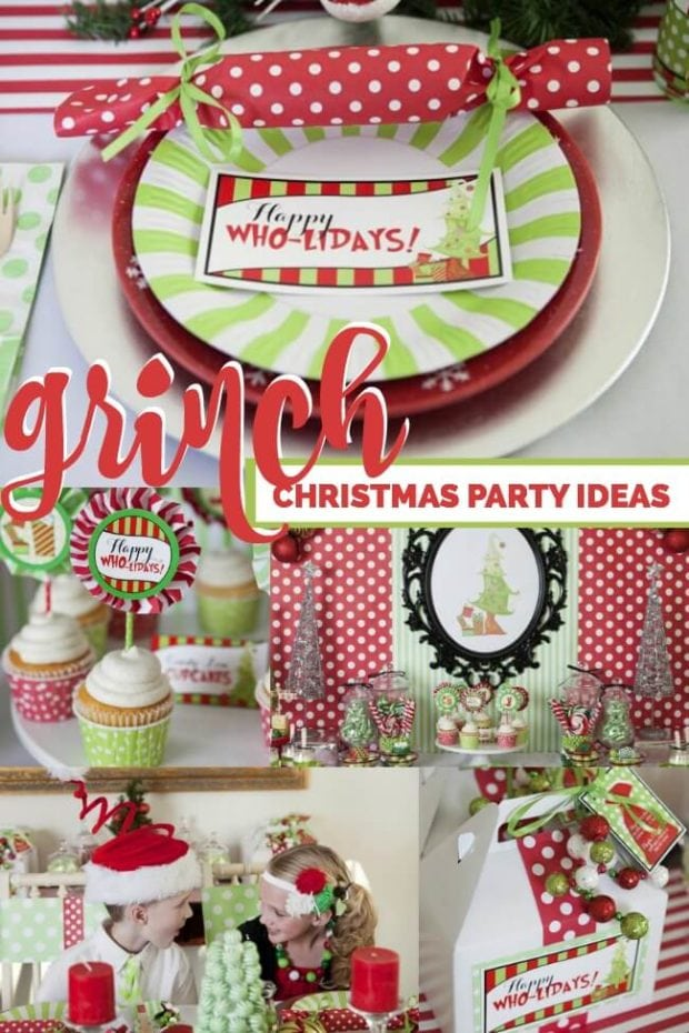 Grinch Christmas Party Ideas Part - 17: Grinch Inspirred Christmas Party
