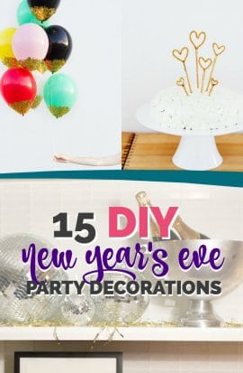 easy New Years Eve Decorations