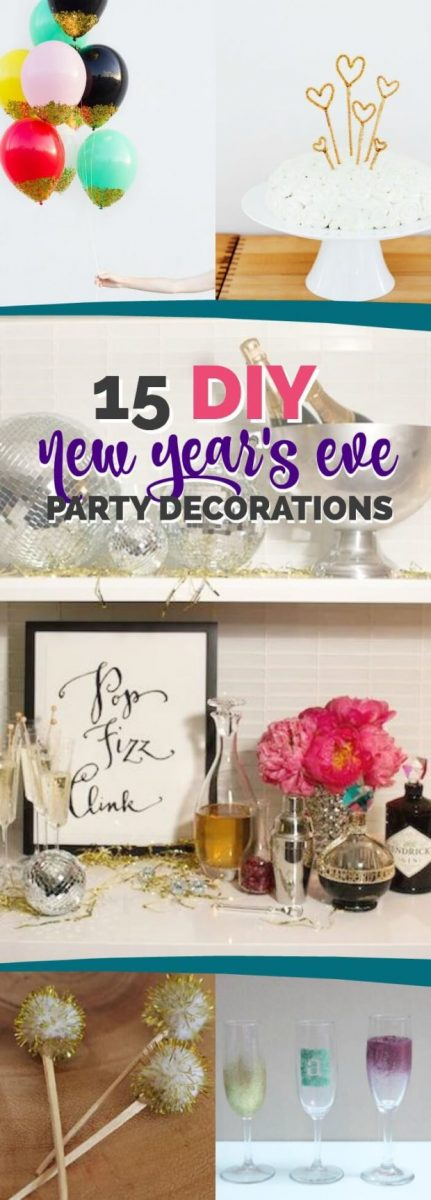 15 Easy DIY Decorations for New Year's Eve Party in 2018 ...
