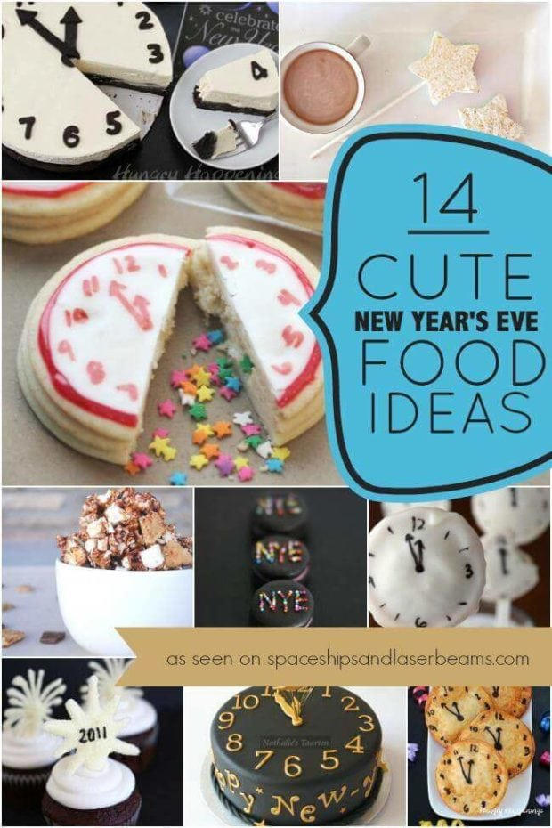 Cute New Year's Eve Food Ideas