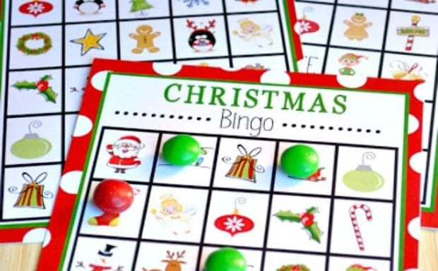photo about 12 Days of Christmas Printable Templates titled 7 Absolutely free Printable Xmas Online games for Your Family vacation Get together