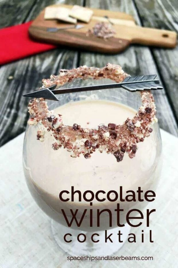 Chocolate Winter Cocktail