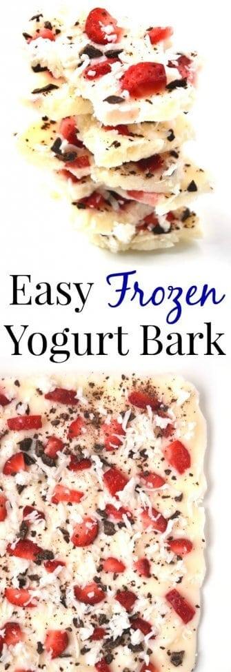 12 Frozen Yogurt Bark
