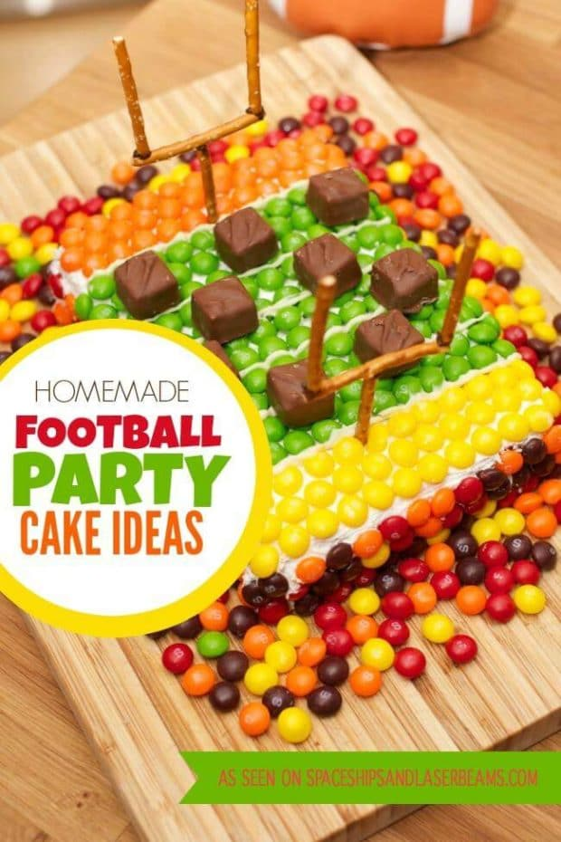 Homemade Football Party Cake Ideas