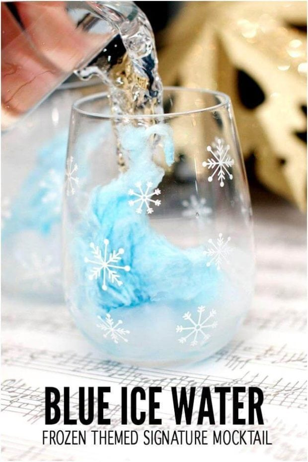 Frozen Birthday Party Mocktail Drink Ideas