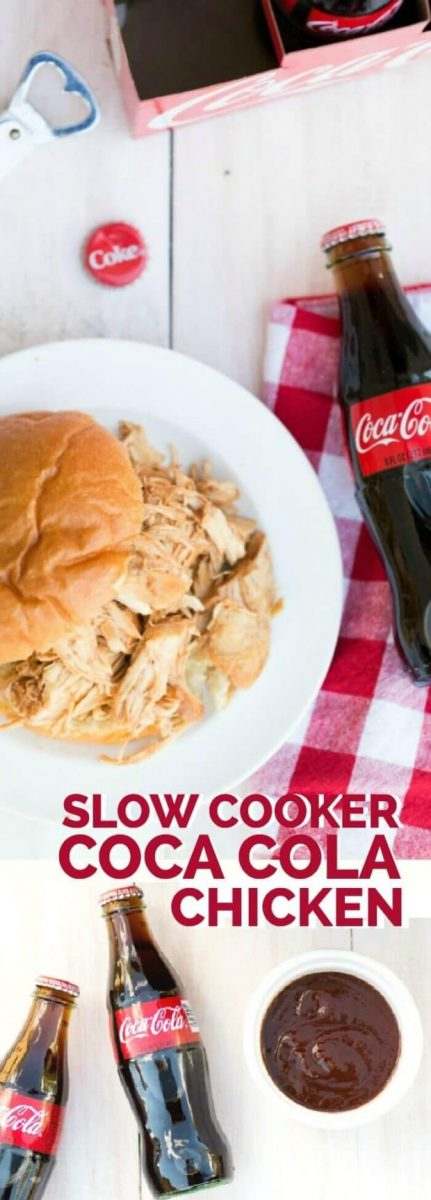 Slow Cooker Coca Cola BBQ Chicken Recipe