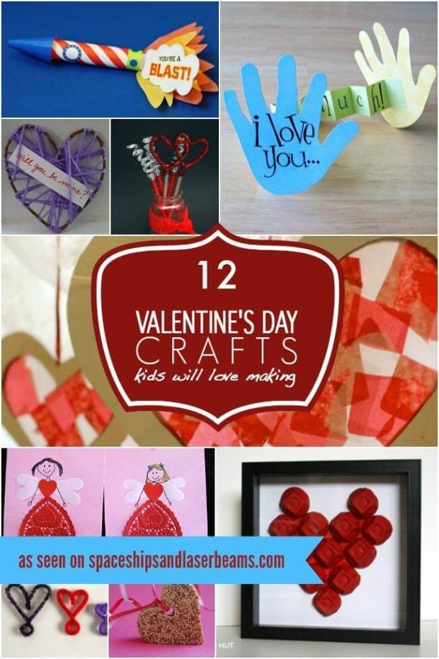 Kid's Valentines Day Craft Ideas