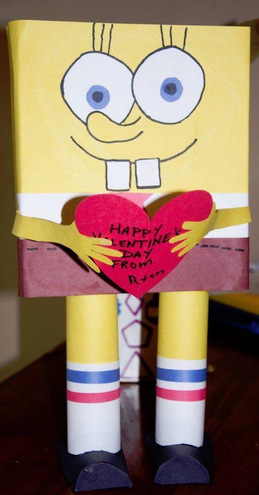 Spongebob Square Pants Valentineu0027s Day Box