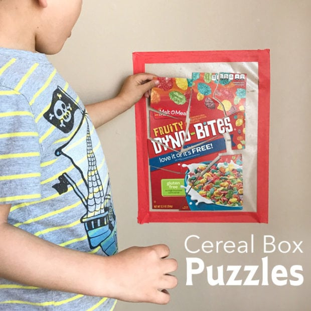 Box and Cereal