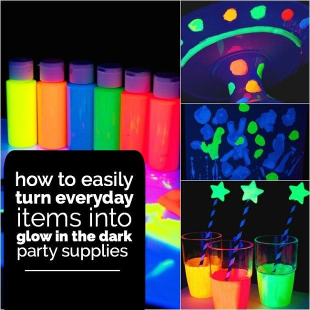 Check Out These 10 Awesome Glow In The Dark Party Ideas