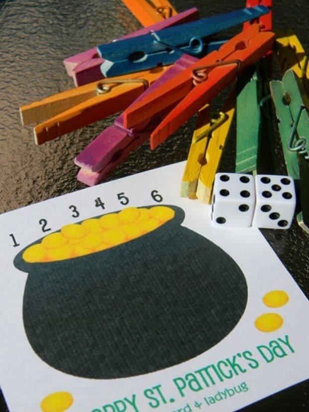 St Patricks Day Gold Hunt Game