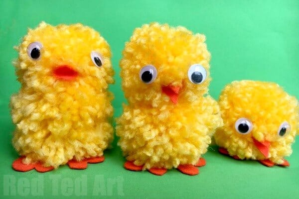 Easy Pom Pom Chick