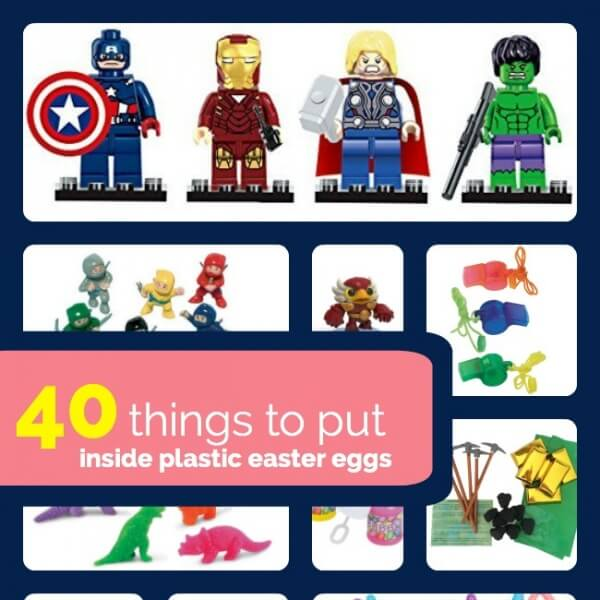 40 Things To Put Inside Easter Eggs Spaceships And Laser