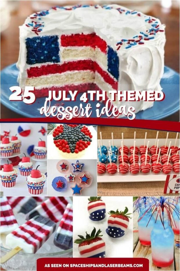 July 4th Themed Desserts