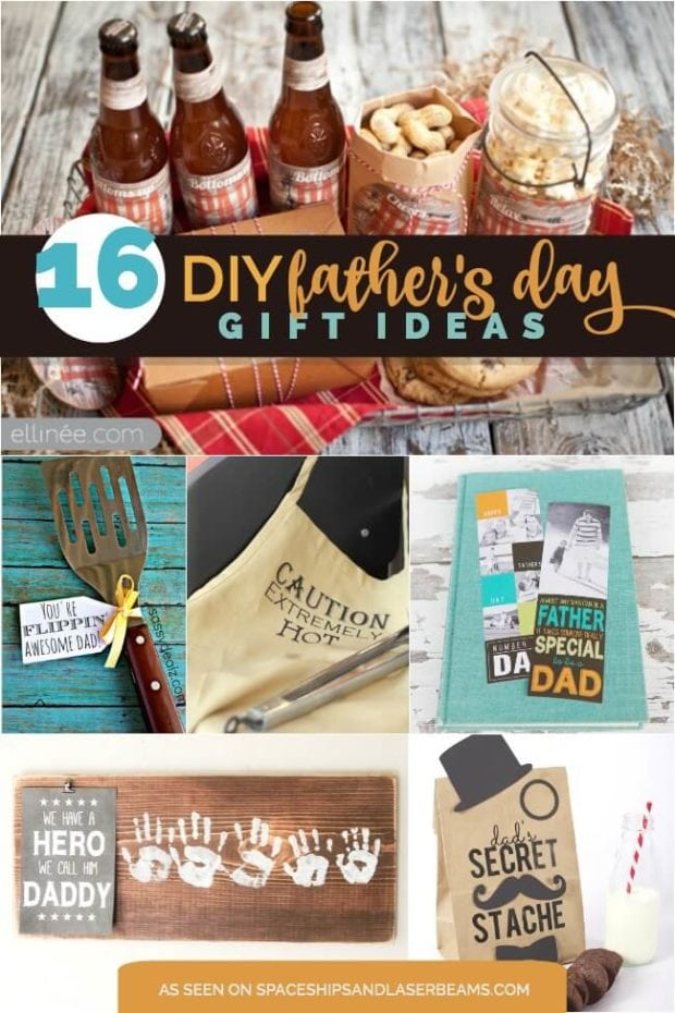 16 DIY Father's Day Gifts - Spaceships and Laser Beams