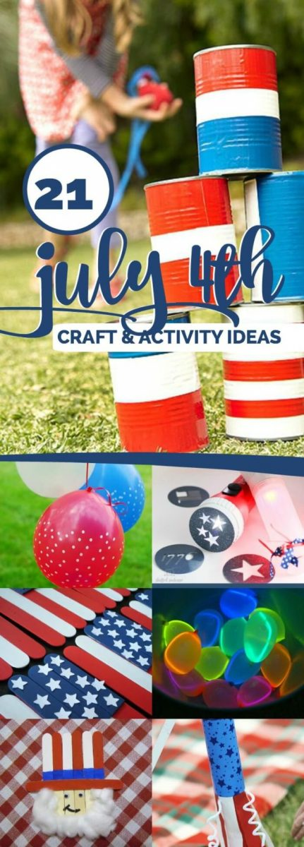 July 4th Crafts and activities