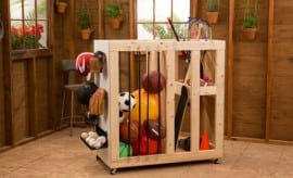 Outdoor Toy Storage Organization