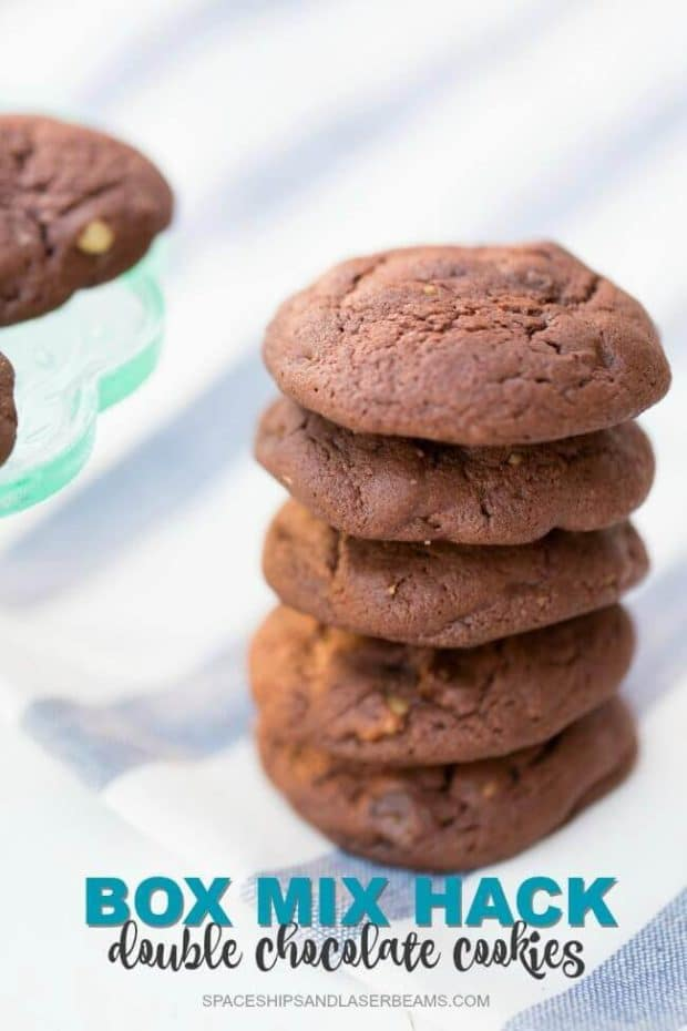 Box Mix Hack: Double Chocolate Cookie Recipe