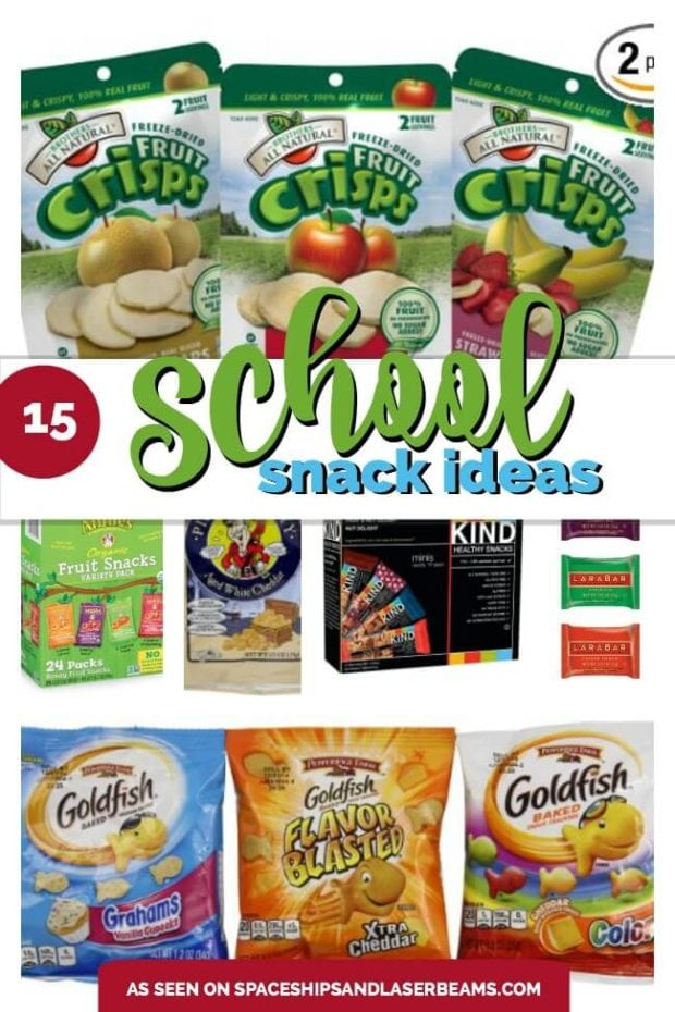 15 Back to School Snack Ideas