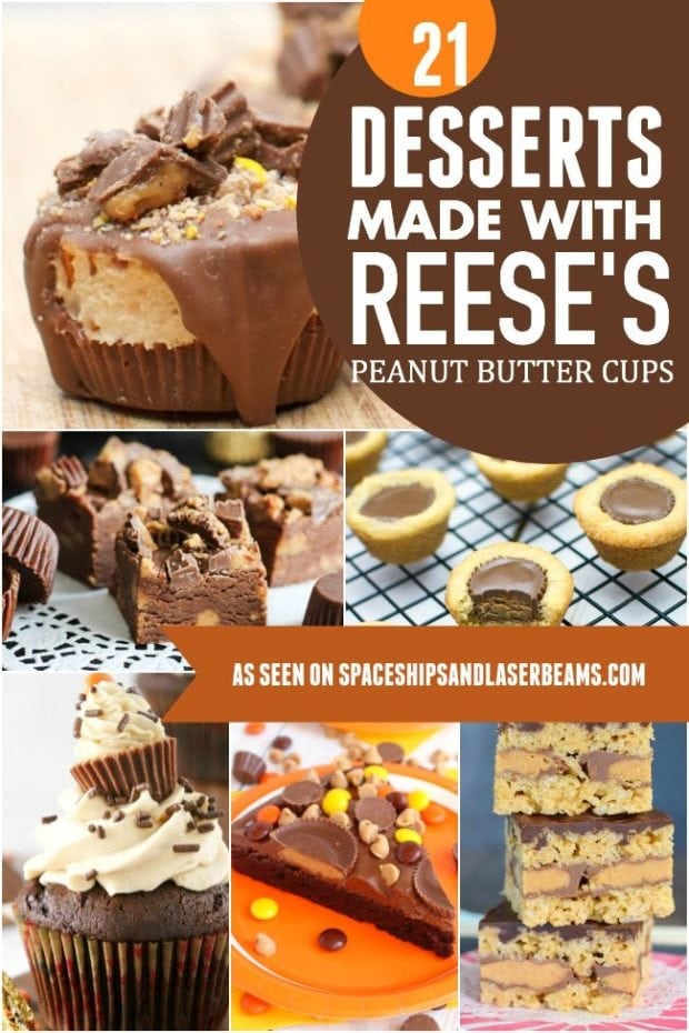 0 Reeses Peanut Butter Cup Desserts