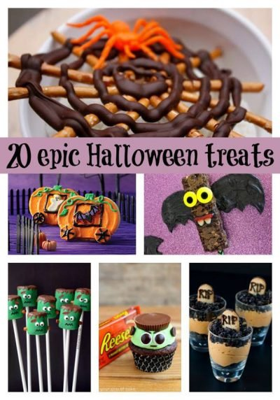 Epic Halloween Treats - Super fun ideas for kids party food in this post