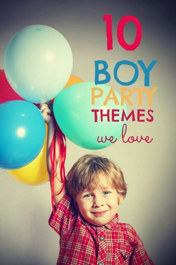 10 Boy Party Themes We Love