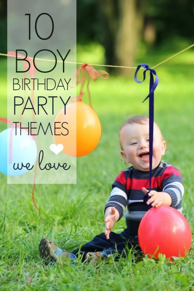 10 Boy Birthday Party Themes We Love Spaceships And
