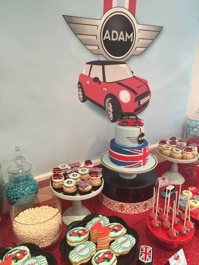 Boy's Car Themed Birthday Party Idea