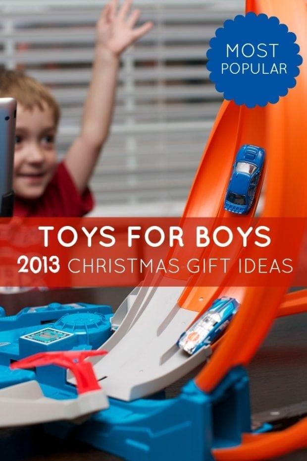 Cool Boy Toys 2013 : Most popular toys for boys christmas gift idea