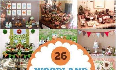 26 Woodland Birthday Party Ideasjpgjpg