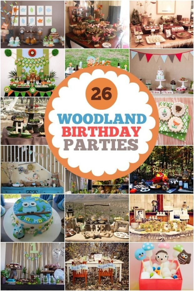 26 Woodland Birthday Party Ideasjpgjpg