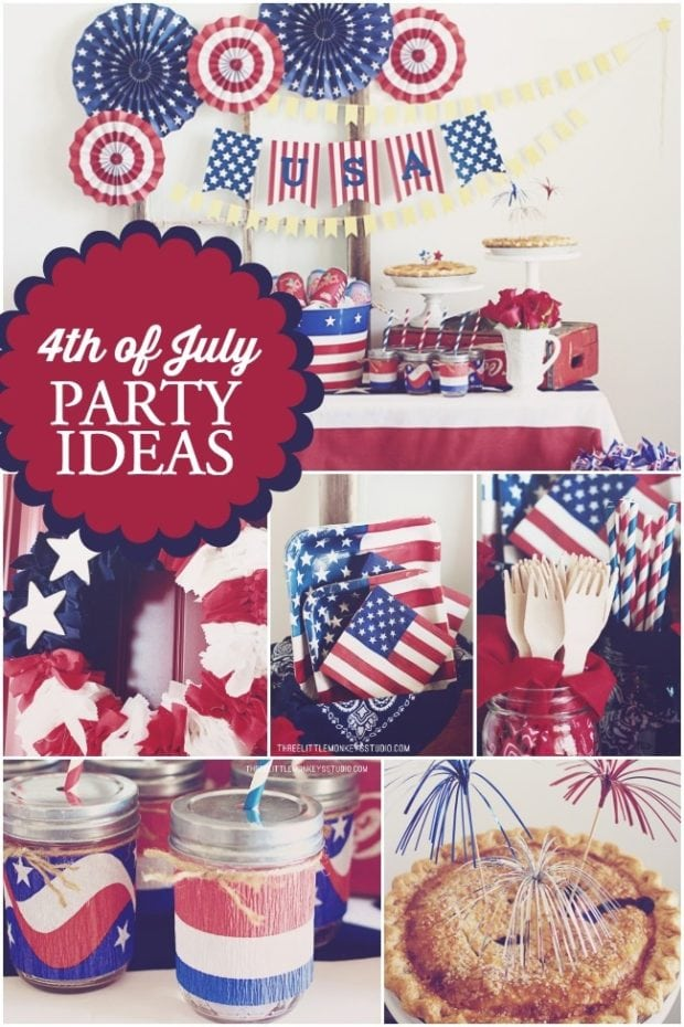 Inspirational 4th of July Party Ideas from Spaceships and Laser Beams.