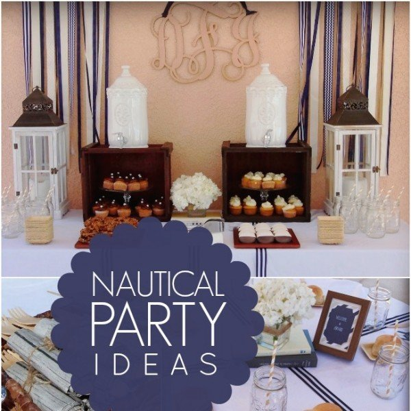 A Nautical Inspired Birthday Party (Grown Up Boy