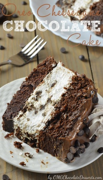 Oreo Cheesecake Chocolate Cake :: OMG Chocolate Desserts :: Share ...