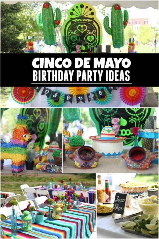 Cinco de Mayo Birthday Party