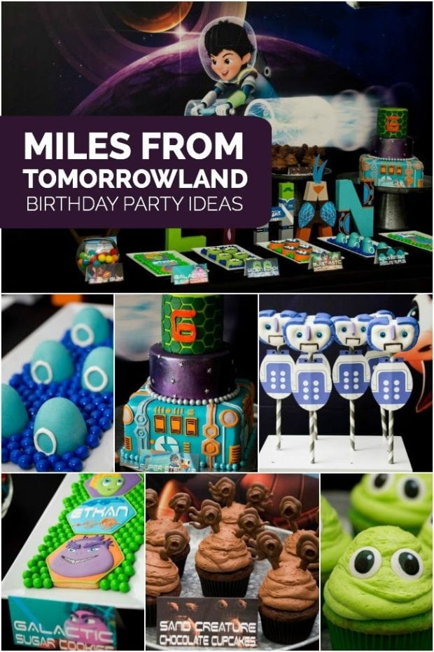 Miles from Tomorrowland Themed Boy's Birthday Party