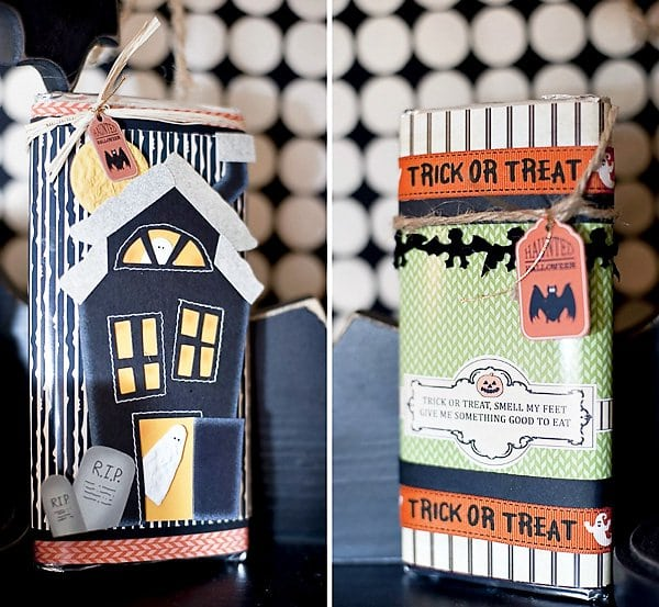 Halloween Craft Project Candy Bar Wrappers