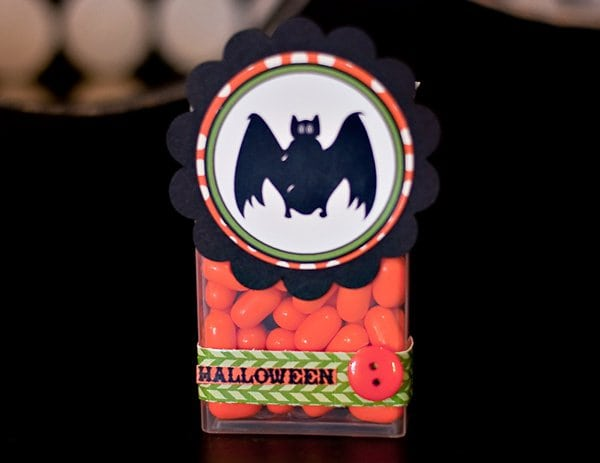 Halloween Craft Project Candy Dispenser Idea