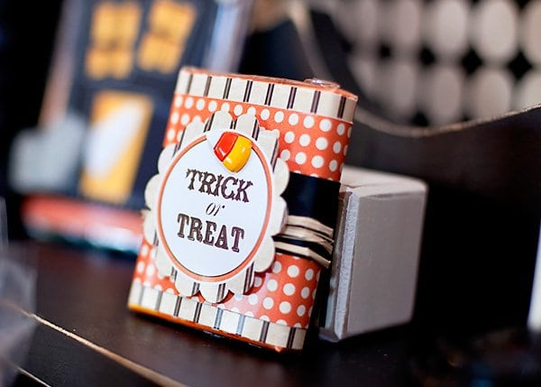 Halloween Craft Project Gum Candy Container Idea