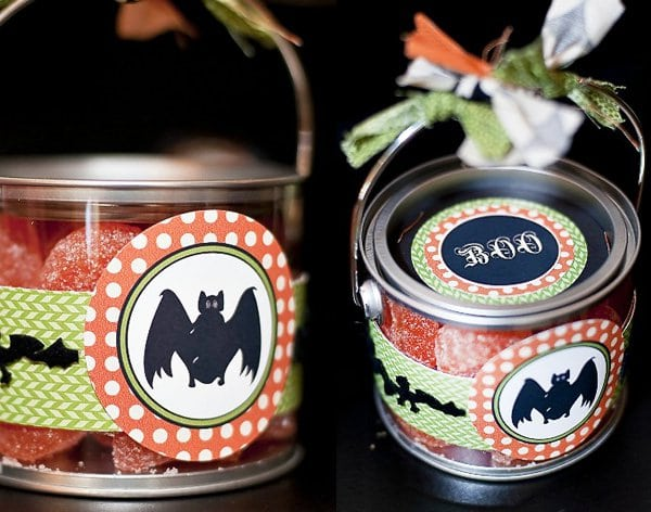 Halloween Craft Project Paint Can Decoration Ideas