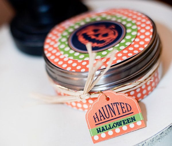 Halloween DIY Project Craft Tin Idea