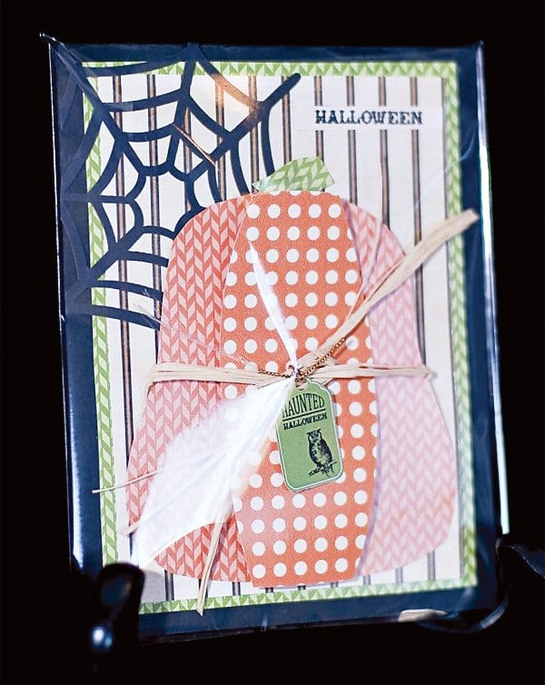 Halloween DIY Project Greeting Card Idea