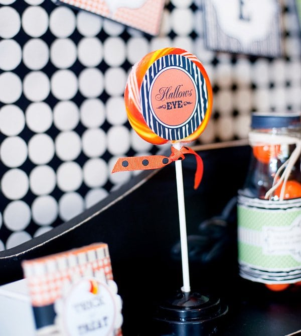 Halloween DIY Project Lolly Pop Idea