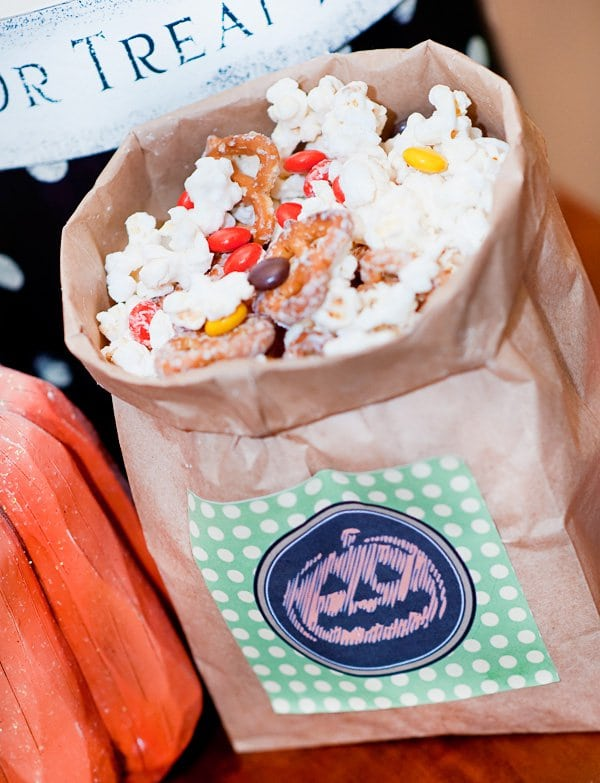 Halloween DIY Project Treat Bag Idea