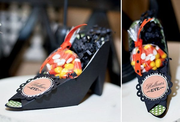 Halloween DIY Projects Witch Shoes